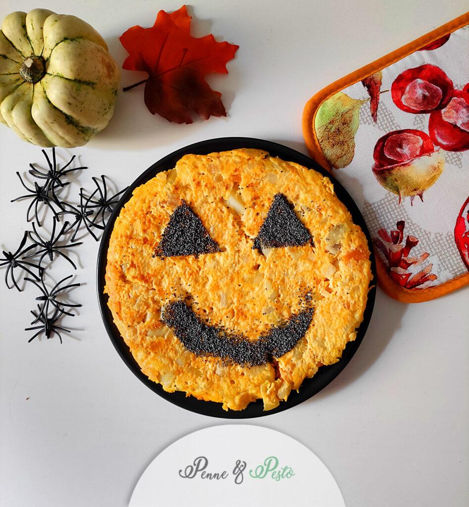 Frittata di Halloween alla zucca