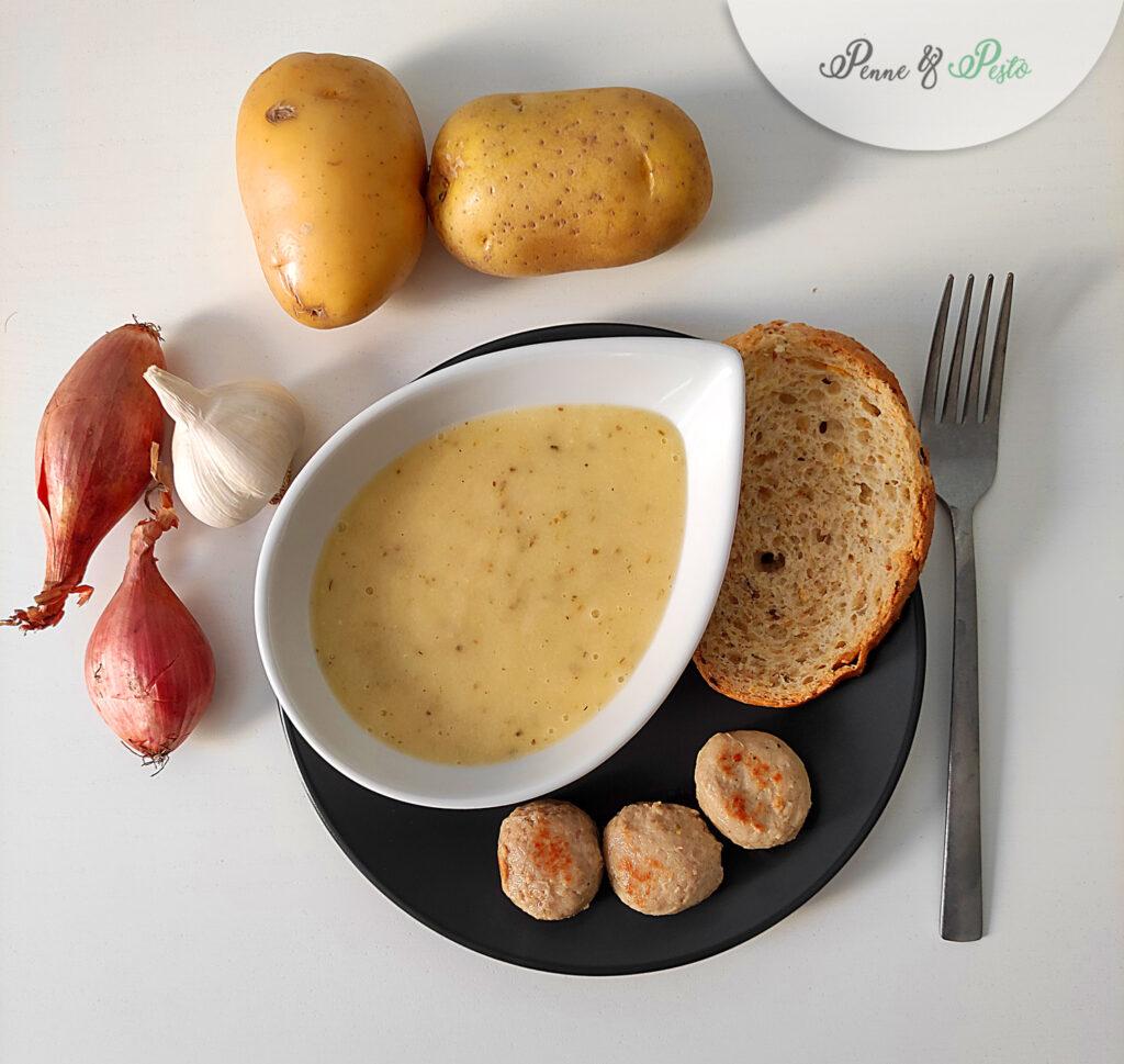 Salsa acidula di patate