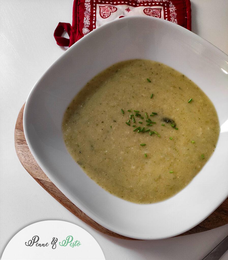 Crema di lattuga e patate