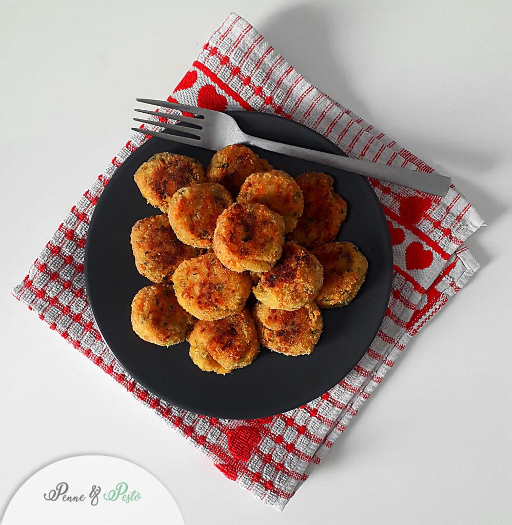 Crocchette veg di patate e verdure