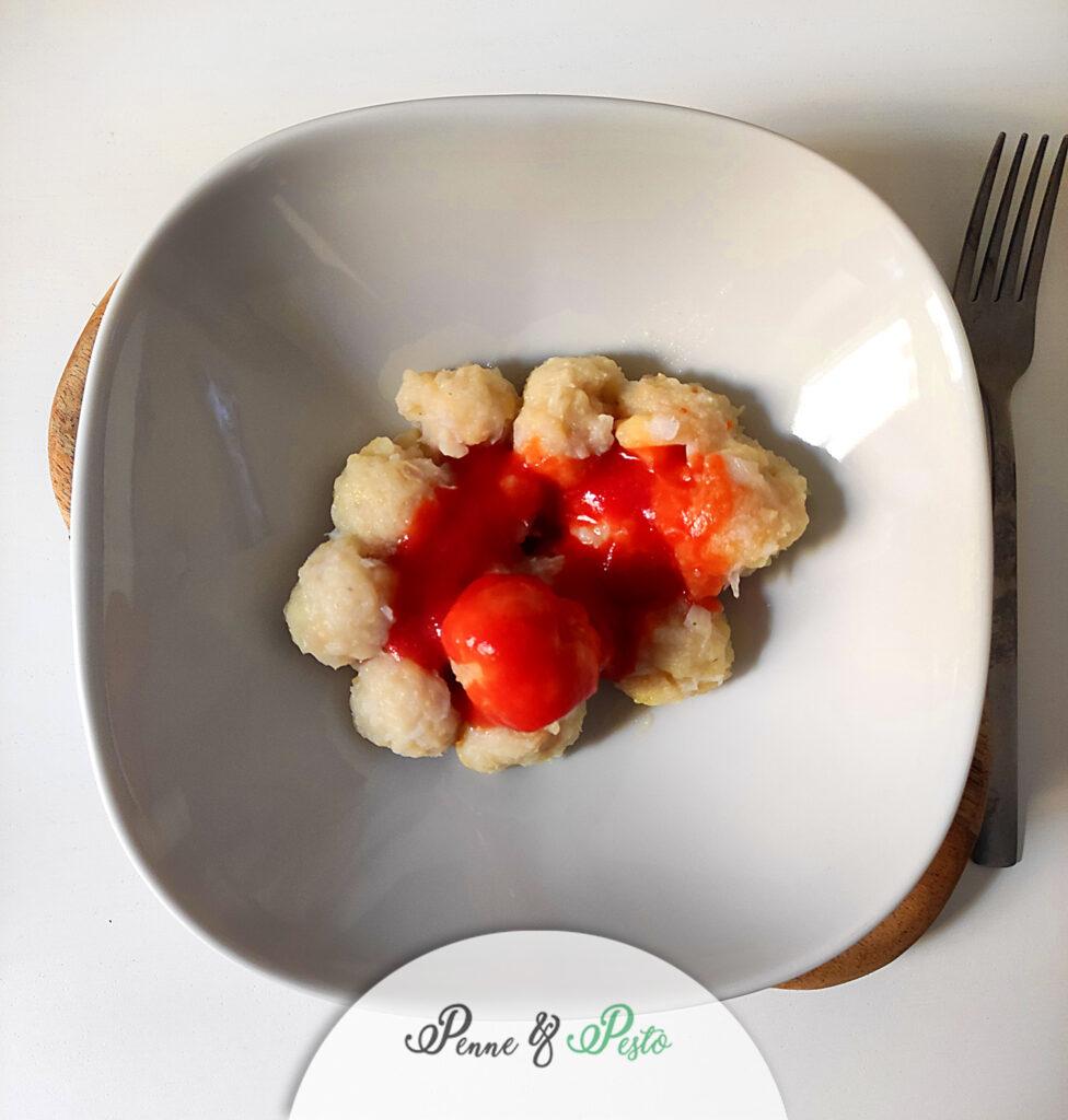 Gnocchi di patate e merluzzo