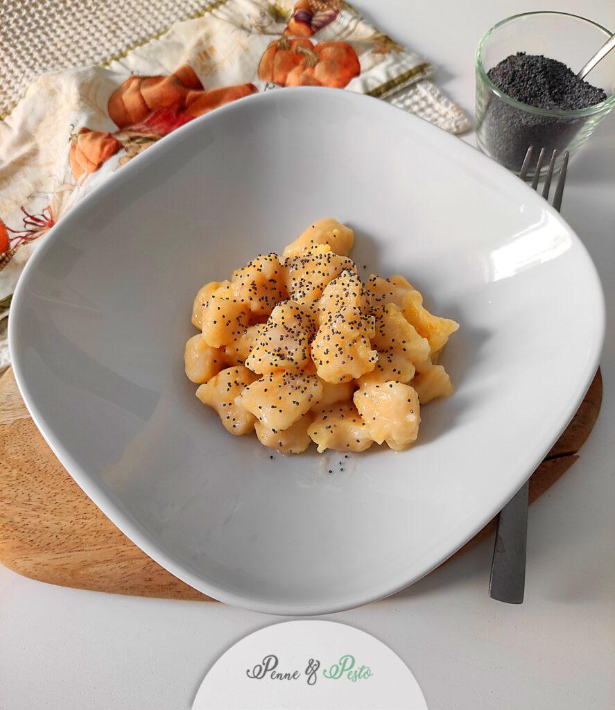 Gnocchi di zucca e patate