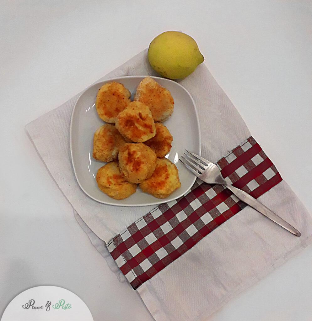 Polpette al forno di merluzzo e patate