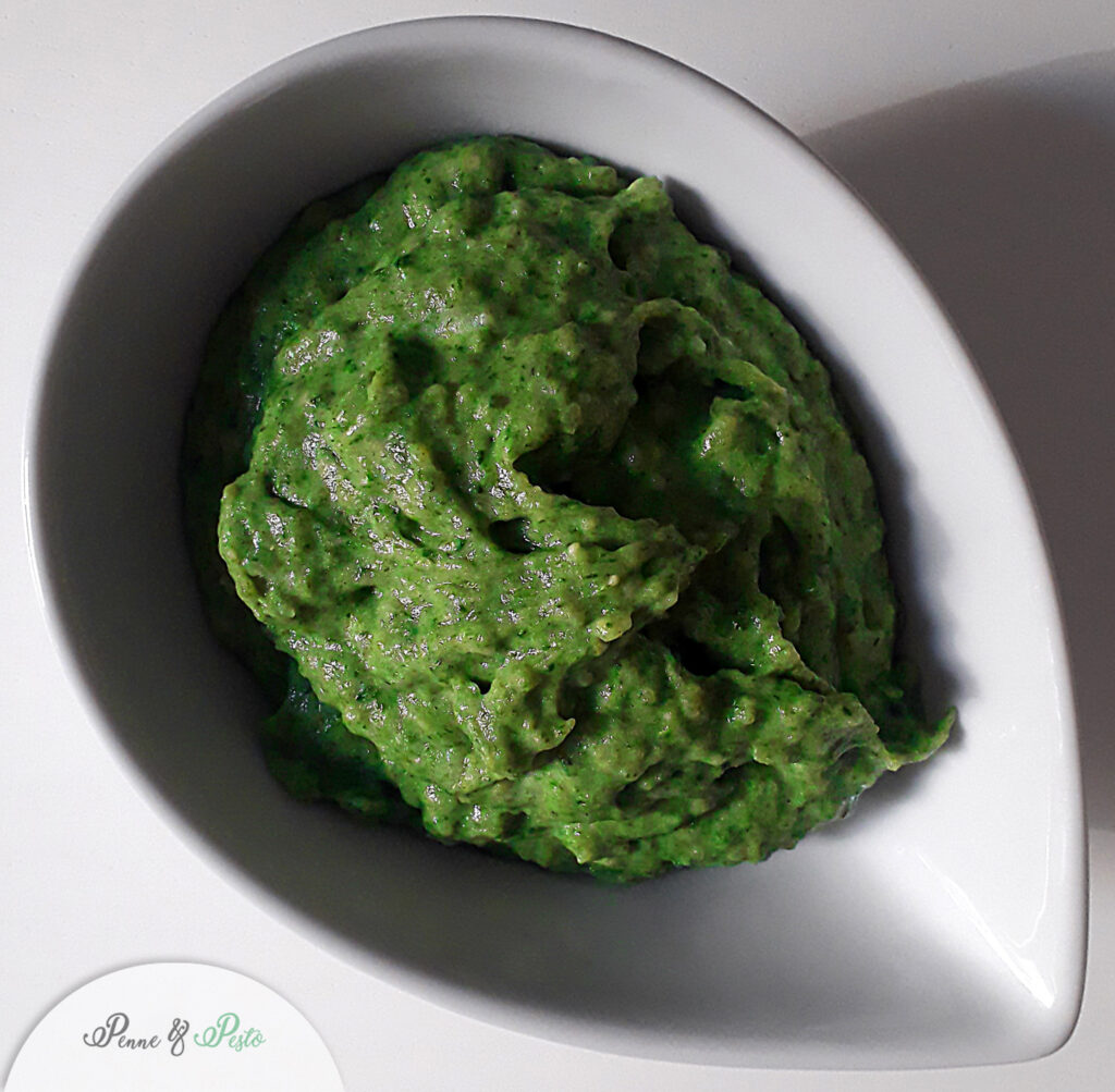 Finto purè di spinaci