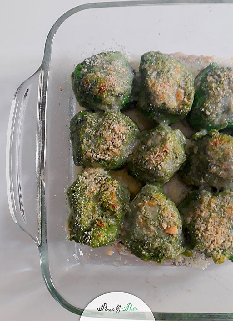 Gnocchi di spinaci al forno