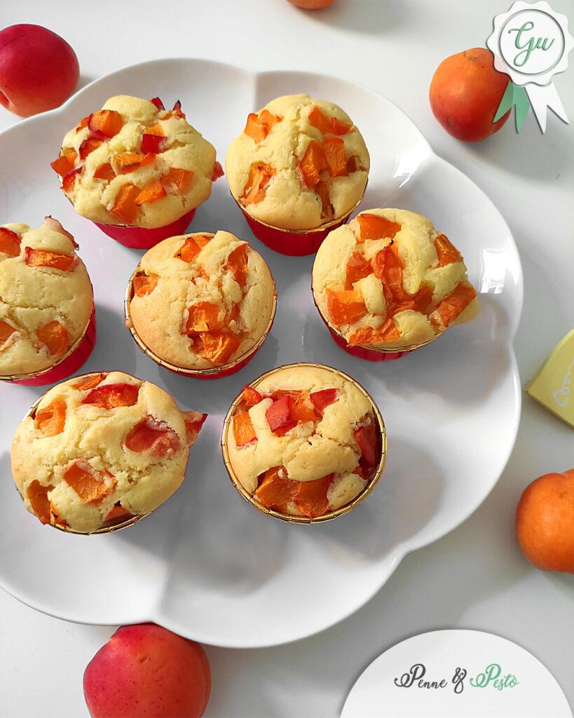 Muffin alle albicocche